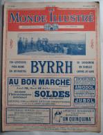 WWI:LE MONDE ILLUSTRE:1918:  ITALIE...AMERICAINS-INDEP ENDANCE DAY....Etc...