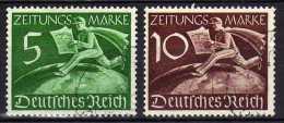 Deutsches Reich, 1939, Mi Z738-Z739, Gestempelt [251014X] - Used Stamps