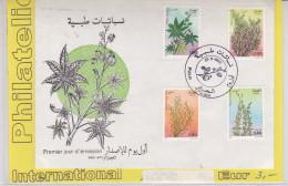 Alger 1982 - FDC - Fleurs Flowers Plantes Blumen - Algeria (1962-...)