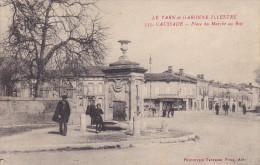 82.CAUSSADE. Place Du Marché Au Bois - France