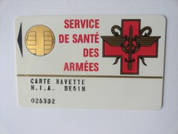 CARTE NAVETTE - Esercito