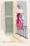 Illustrateur SAGER Xavier, Ed Noyer Serie 62, Soir De Gothas, écrite - Sager, Xavier