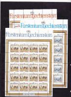 Liechtenstein, Kleinbogen Nr. 821/23**