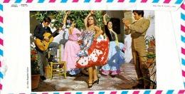 Schmuckbrief ESPANA 1983 - Schöne 6 Fach Frankatur Ungestempelt Auf Großem Schmuckbrief Mit Flamenco-Tänzerinnen - 1981-90 Briefe U. Dokumente