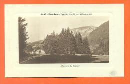 """Dpt  39  Ilay  """"  Clairiere Du Sapinet  """"  Carte En Creux - France"""