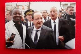 DIJON ( Cote D'Or ) LES GRESILLES - VISITE DU Président De La REPUBLIQUE, François Hollande En Présence Du Maire ..... - Meursault