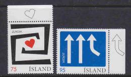 Europa Cept 2006 Iceland 2v ** Mnh (17037) - Europa-CEPT
