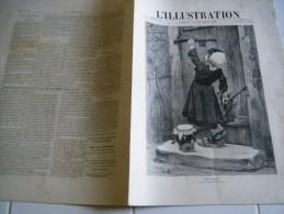 L�Illustration 25 fevrier 1888-TOLSTO� - AFFAIRE DES DECORATIONS-CAMILLE DOULS SAHARA OCCIDENTAL SUD MAROC