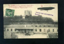 S5322 CARTOLINA FRANCIA ETAMPES TOUR DE GUINETTE  DIRIGIBILE PATRIE - Dirigibili