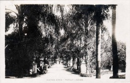 BUENES AIRES 1927 - Parque Lezama, Orig.Fotokarte Gel.1927 Mit Marke Und Schönen Rundstempel Buenes Aires - Argentinien