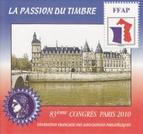 Bloc FFAP N° 4 Paris 2010 - CNEP