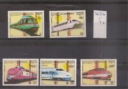 KAMPUCHEA  Timbres Neufs** 1989 Trains   ( Ref 246 ) - Kampuchea