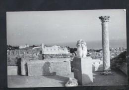 F2345 foto Ferrania - localit� italiana non identifica con resti archeologici  - old small size not used