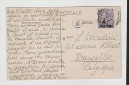 BD055a/  BRIT.  Levante, Mi.Nr. 48 Letztes  Verwendungsjahr 1923, Ansichtskarte Constantinople - British Levant