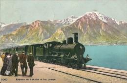 Express Du Simplon Et Lac Léman - Trains