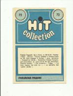"""IMAGE PANINI No 72 """"HIT COLLECTION""""VOITURE """"2CV"""" ET PATRICK TOPALOFF DEVANT."""