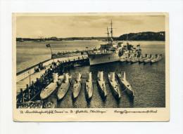 1940 3. Reich U-Boot Flottille Weddingen mit Feldpost Fliegerhorstkommandantur Rosenborn
