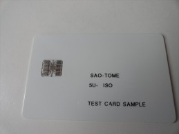 RARE : SAO - TOME  TEST CARD - Sao Tome And Principe