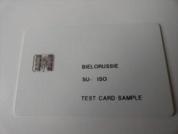 RARE : BIELORUSSIE  TEST CARD - Russland