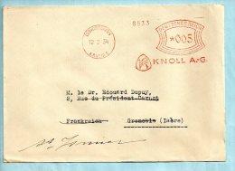 KNOLL A.G. Ludwigshafen Du 12/02/1934. (P6745) - Deutschland