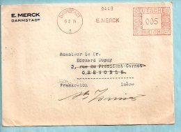 E. MERCK Darmstadt Du 15/02/1934. (P6746) - Allemagne