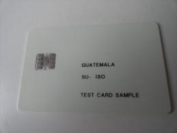 RARE : GUATEMALA  TEST CARD - Guatemala
