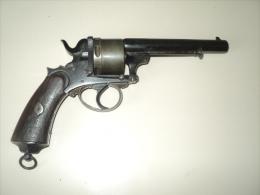 ancien revolver � poudre noire E-GILEZ N�4,11mm
