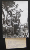 PHOTO MOTO-CROSS BICKERS PERNES-LES- FONTAINES 1963