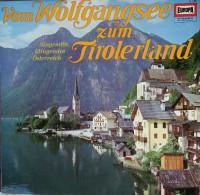 DISQUE VINYLE 33 Tours VOM WOLFGANGSEE ZUM TIROLERLAND - World Music