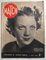 WW II.39-45:MATCH:1939:  LEON BLUM...HITLER...LA COMMUNE DE PARIS..Etc..