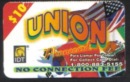 UNITED STATES - IDT PHONECARD  (  UNION  PHONECARD ) USED  2005 - Vereinigte Staaten