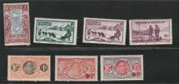 St Pierre & Miquelon 1909-30 MH Lot # 6978