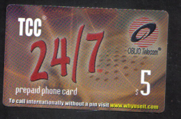 UNITED STATES - OBLIO PHONECARD  ( TCC PHONECARD ) USED 2000s - United States