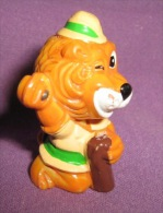 Figurines - Kinder - Ferrero - Lion, 1993. - Chats