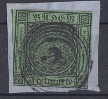Baden Briefstück Minr.6 Nr.-St. 84 Lörrach - Baden