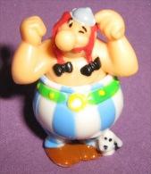 Figurines - Kinder - Ferrero - Obelix (MPG 2S-256), 2007. - Astérix & Obélix