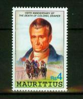 Mauritius 1991,1V,horses,paarden,pferde,chevaux,caballos,MNHPostfrisch(E4285at) - Paarden