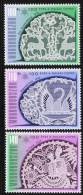 HUNGARY - 2002. Halas Lace Designs, Centenary MNH!!  Mi 4724-4726. - Ungarn