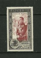 MONACO 1950 Poste Aérienne     N° 49      Avènement Du Prince Rainier III       NEUF - Poste Aérienne