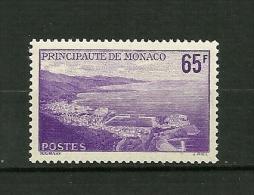 MONACO 1957     N° 487       Vue De La Principauté         NEUF - Monaco