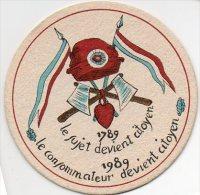L'ENTREPOSITAIRE - Révolution Française 1789/1989 - Scans Recto/verso - Sotto-boccale