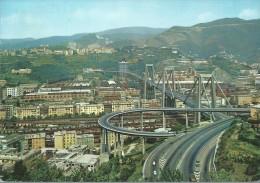 GENOVA- IL  VIADOTTO POLCEVARA- 1974- VIAGGIATA- - Genova