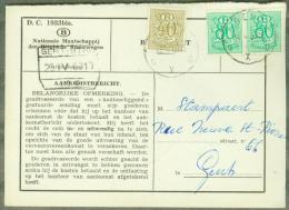 Aankomstbericht - Gent Stapelplaats N°4 (zie Scans) - Sonstige