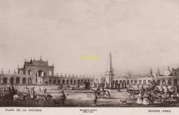 CPA ARGENTINE ARGENTINA MITCHELL'S BUENOS AIRES **  PLAZA DE LA VICTORIA 1840 - Argentine