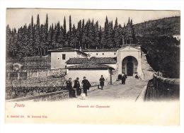 CPA ITALIE : Prato : Convento Dei Cappuccini (Avec Petite Animation) - Prato