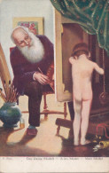 CHILDREN - P. Peel - Das Kleine Modell - A Kis Model - Enfant Nu - Enfants