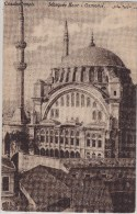 "Turkey Turquie Türkiye Postcard Constantinople ""Mosque Nour-i Osmanié"" - Turquia"