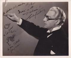 Sacha GUITRY - photo originale d�dicac�e � A. RYDER.