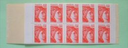 France 1978 MINT (normal Gum) Scott 1570 B Booklet = 2x15 = 30 $ - Sabine (2 Pages Glued Together) - Frankreich