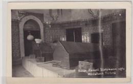 """Turkey Turquie Türkiye Postcard """"Bursa Kanuni Süelymanin Oglu Mustafanin Türbesi"""" - Turquia"""